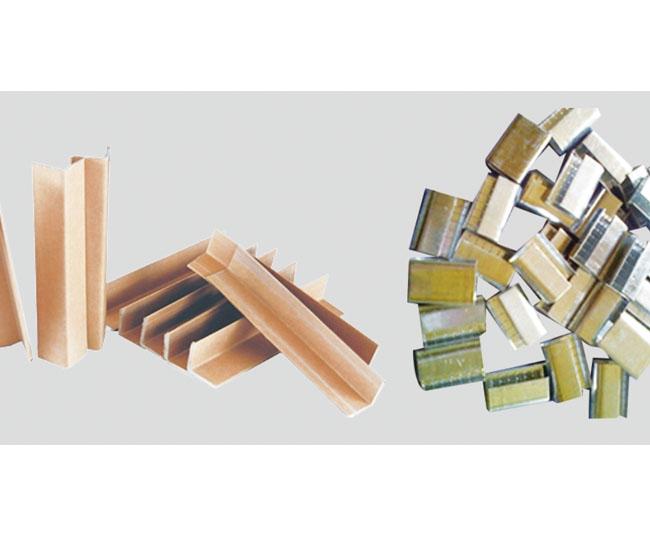 Paper corner/packing buckle