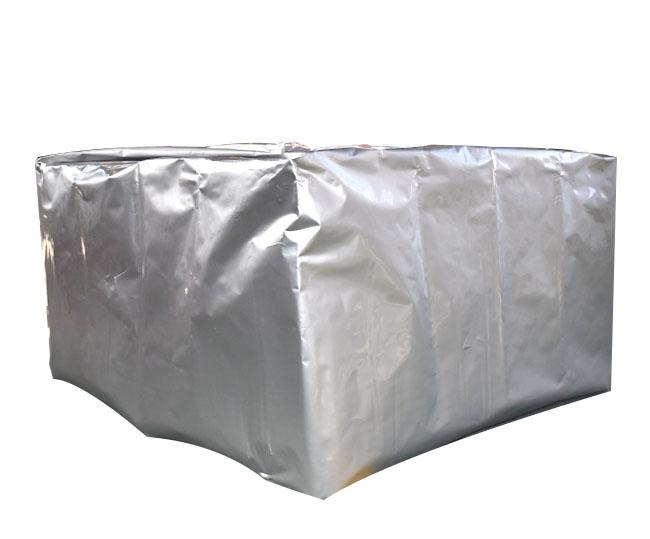 Three-dimensional aluminum foil vacuum bag