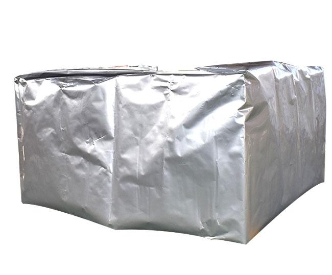 Square three-dimensional aluminum foil vacuum bag